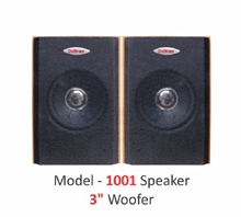 Model 1001 Speaker3'woofer