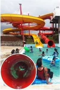 Inner Tube Tunnel Slide