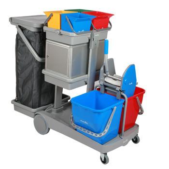 Partek Greyline 1500A Housekeeping Trolley