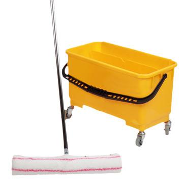 Partek Yellow Bucket With Window Wash