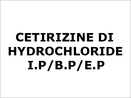 Cetirizine Di Hydrochloride BP