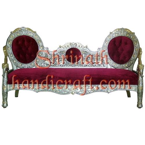 Silver or Metal Mounted Sofa Sets