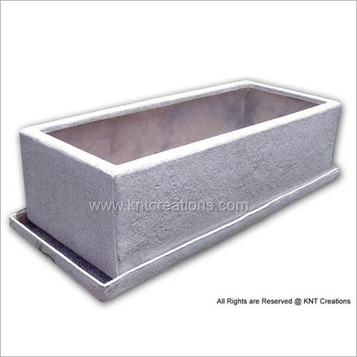 Granite Horizontal Planter