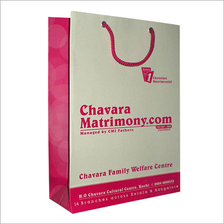Customized Duplex Board Paper Bags