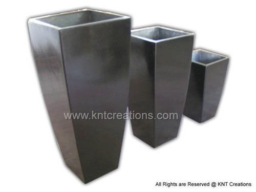 Tall Planters (Set) Square and Rectangular