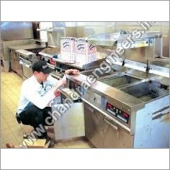 Installation of Restaurant Equipments