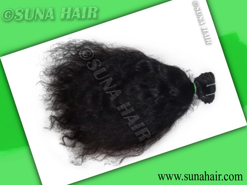 Stock For Beautiful Silky Curly 18Inch Human Hair