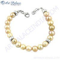 Handmade New Pearl Style Silver Hook Bracelets Jewelry Collection