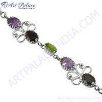 Bracelets Silver Loose Gemstone Bracelets For Wearing