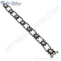 High Quality Loose Gemstone Silver Bracelets Jewelry