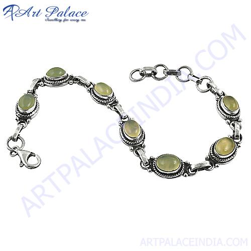 Small &Cute Gemstone In Silver Bracelets Jewelry, 925 Sterling Silver