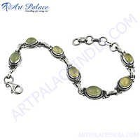 Small &Cute Gemstone In Silver Bracelets Jewelry, 925 Sterling Silver