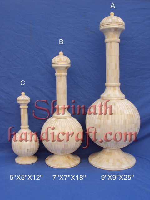 Bone Fitted Pots