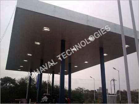 Petrol Pump Sheds