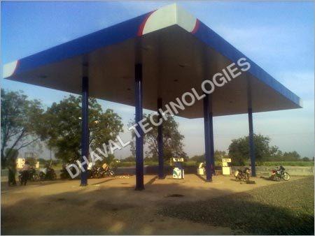 Service Station Canopy