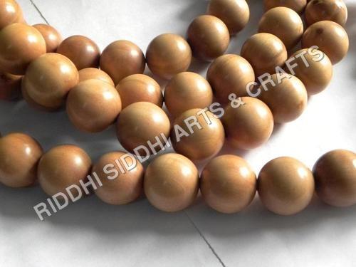 sandalwood carved beads