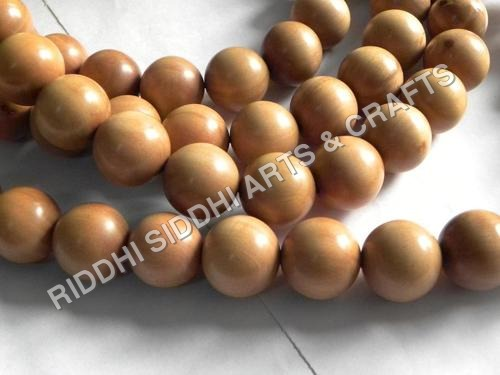 sandalwood carved beads