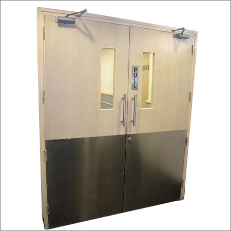 Two Hour Rated Wooden Fire Door