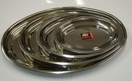 Stainless steel Trays Set