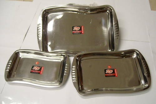 Square SS trays