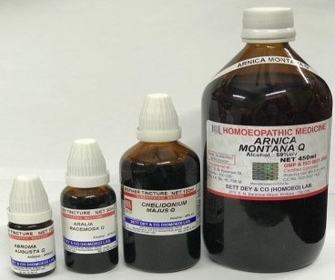 Mother Tincture Homoeopathic Medicine
