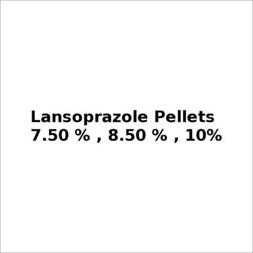 Lansoprazole Pellets 7.50%, 8.50% , 10%