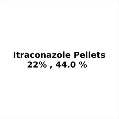 Itraconazole Pellets 22.0%, 44.0%
