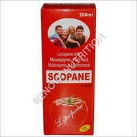 Lycopene Mecobalamin Folic Acid Multivitamin Syrup