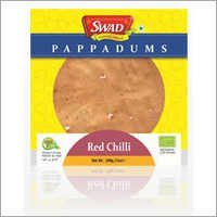 Red Chilli Papad