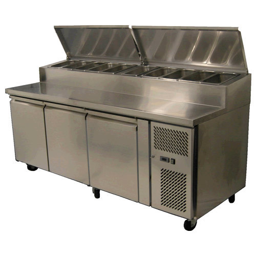 Under Counter Refrigerator with Dress Up Unit
