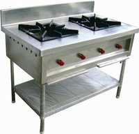 Two Burner Cooking Equipment