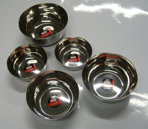 Stainless Steel Serving Bowl