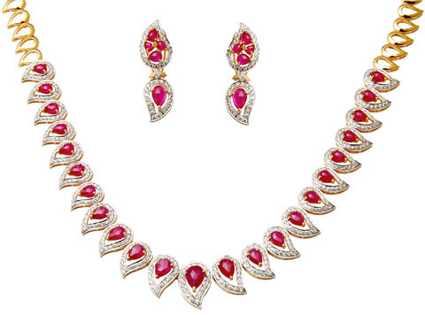 Kairi Design Collats Gems Necklace, Precious