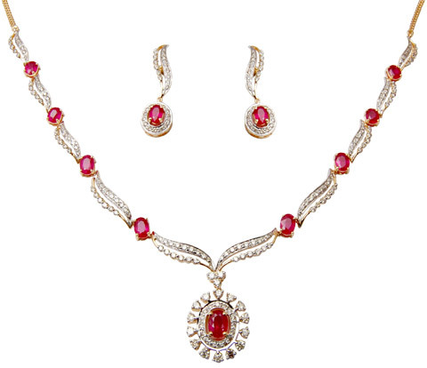 Traditional And Western Necklace Set For Occassion