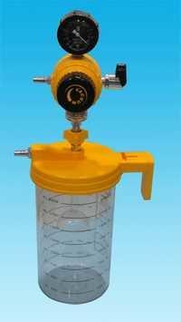 Ward Vaccum Regulator With 2000 Ml Jar