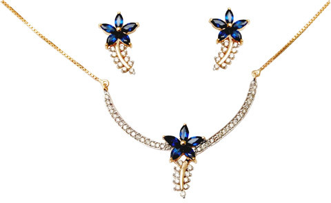 Indian Gold Necklace Designs, Very Light Gold