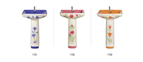 Supreme Wash basin with pedestal