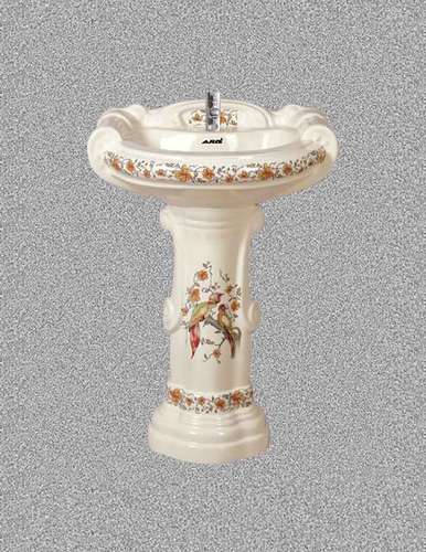 Printed Pedestal Wash Basin