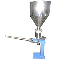 HAND OPERATED TUBE FILLING MACHINE