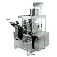 fully automatic, single head, fully enclosed GMP model type tube filling and sealing  machine.