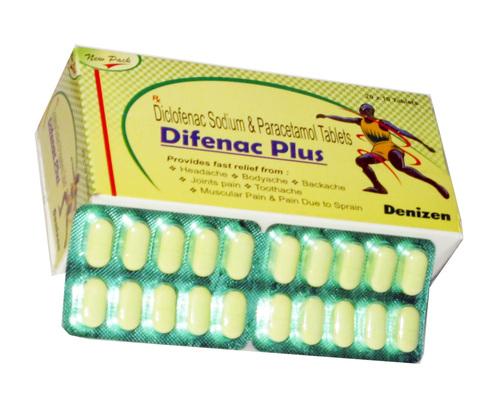Diclo 50mg Paracetamol 325mg
