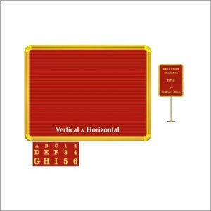 Golden Groove Perforated Board