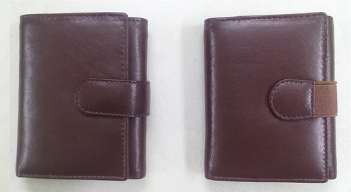 Trifold Men Leather Wallet