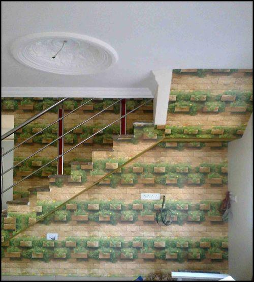 Brick Staircase Wallpaper