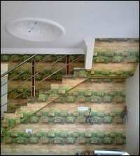 Brick Staircase Wallpaper