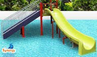 Straght Pool Slide 7 ft ht