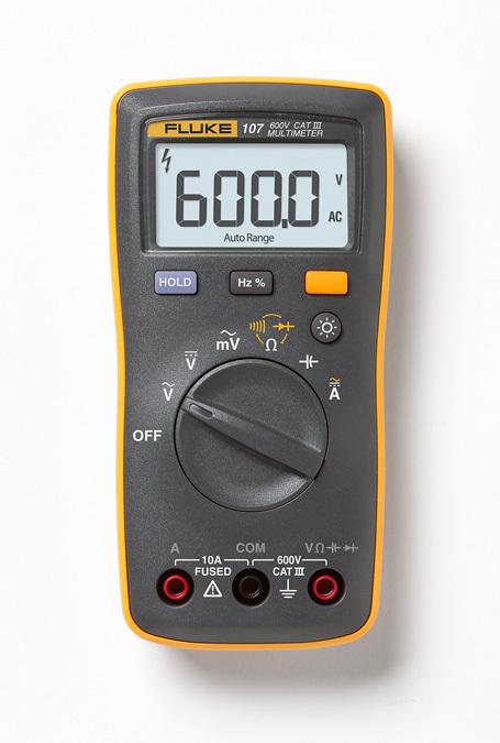 Fluke 107 Basic Digital Multimeter