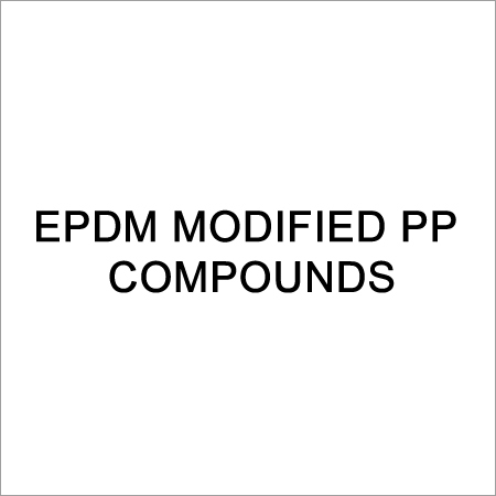 EPDM Modified PP Compounds