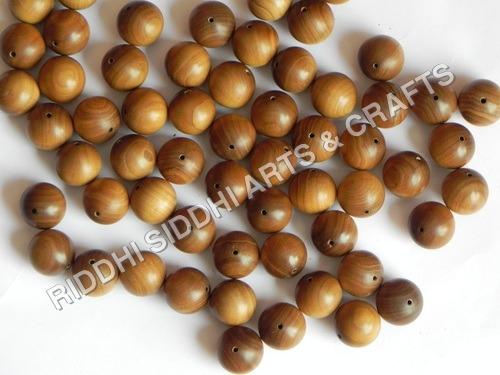 sandalwood finished beads