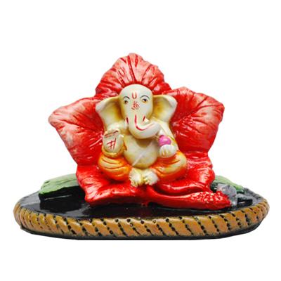 Pink Ganesh Idol